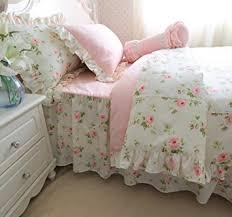 Bedding Sets Full For Girls by Amazon Com Brandream Romantic Green Pink Rose Bedding Set Girls