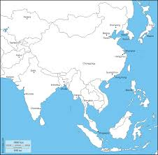 Map States South And East Asia Free Map Free Blank Map Free Outline Map