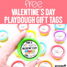 valentines gifts for s day playdough gift tags miss decarbo