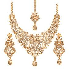 white necklace sets images Touchstone indian bollywood traditional royal look jpg