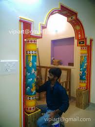 vipin iritty artist kerala mural paintings and oil paintings vipin iritty wall painting piller painting kerala mural art on philler