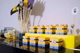 minion baby shower decorations despicable me minions baby shower party ideas photo 5 of 17