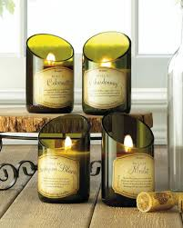 wine bottle merlot scented candle wholesale at koehler home decor