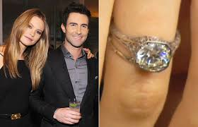 behati prinsloo wedding ring behati prinsloo s engagement ring see the photo instyle