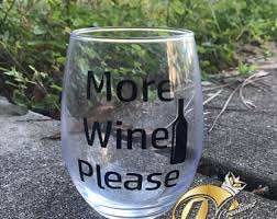 wine glasses funny etsy