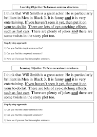 lesson on sentence structure by kaur10 teaching resources tes