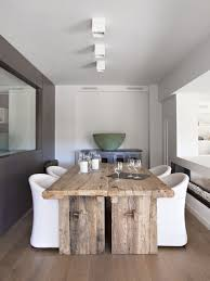 Modern Furniture Dining Room Furniture Alluring Modern Rustic Kitchen Tables Wood Dining Room
