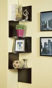 decorative bookshelf case for home corner ladder tree u0026 invisible