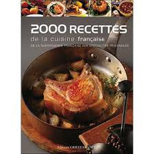 editeur livre cuisine 2000 recettes de la cuisine française cartonné collectif