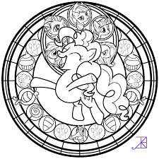 pinkie pie coloring page free download