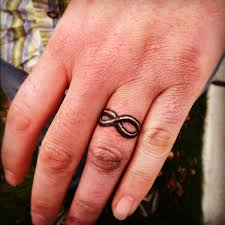 tattoo infinity ring make a rocking couple by astonishing ring tattoos