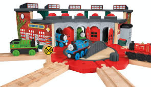 Thomas Train Table Plans Free by Amazon Com Fisher Price Thomas The Train Wooden Railway Deluxe