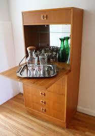 Teak Bar Cabinet Mid Century Modern Teak Bar Cabinet Picked Vintage