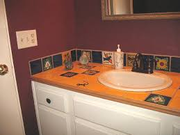 Mexican Tile Vanity Top Accents And Backsplash Mexican Home Decor - Mexican backsplash