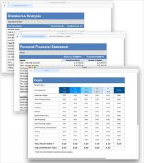 business planning and costing made easy free financial template