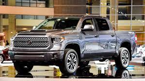 nissan tundra interior motor mondays toyota spiffs up tundra styling adds trd sport