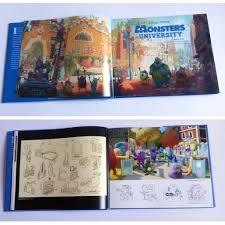 livro art monsters university thecab concept art blog