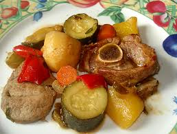 cuisine marocaine tajine agneau tagine d agneau aux légumes variés