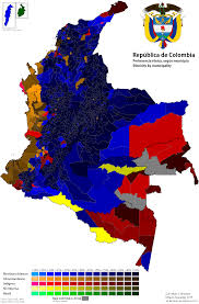Chicago Demographics Map by Ethnic Map Of Colombia Ilboard Pinterest