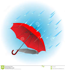 red umbrella in rain royalty free stock photos image 25915028