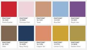 28 fall 2017 pantone colors pantone farbpalette los colores de moda para el otoño invierno 2017 18 del pantone