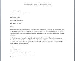 Transfer Request Letter In Bank bank loan information request letter smart letters