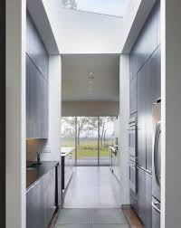architecture modern kitchen corridor kitchen island kitchen