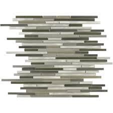 buy gun metal stainless steel random bricks glass and glossy