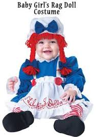 Baby Doll Halloween Costume Ideas Child U0027s Rag Doll Costume Costumes Dolls