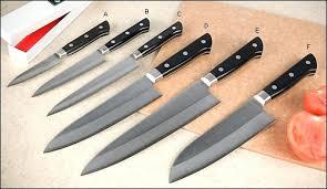 japanese folded steel kitchen knives knifes japanese folded steel knife set japanese kitchen knife