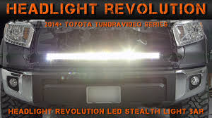 2016 toyota tundra fog light bulb 2014 2017 toyota tundra stealth light bar install tundra video