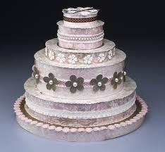 diy crafty wedding cake tutorial make don u0027t bake this bridal