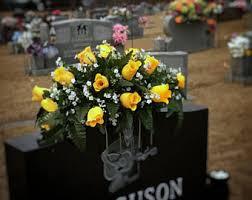 cemetery flowers cemetery flowers etsy