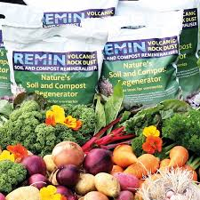 remin volcanic rock dust 10kg pack from d t brown seeds