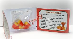 the legend of the 5 kernels a thanksgiving favor the of