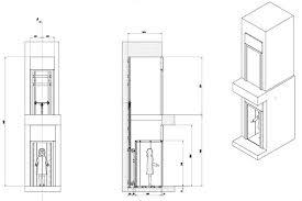 tende da sole dwg ascensore per disabili ascensori