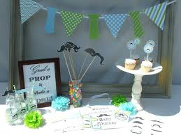 baby shower table decorations boy baby shower diy