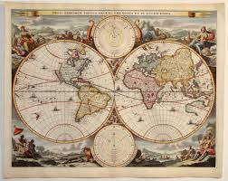 antique map world antique map stoopendaal world
