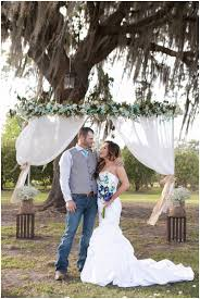 rustic backyard wedding the budget savvy bride