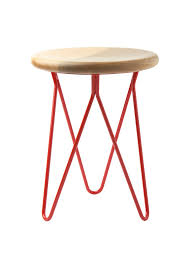 hairpin leg kara stools from toast my warehouse home
