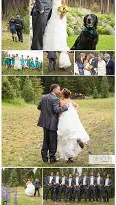 colorado summer rain visits a backyard wedding in breckenridge