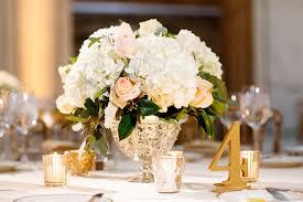 hydrangea centerpiece blush and hydrangea centerpiece elizabeth designs the