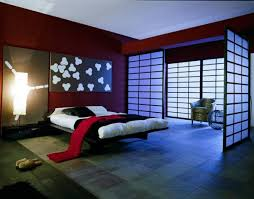 Japanese Bedroom Furniture Japanese Bedroom Decor Beige Combination Pure Black Paint Walls