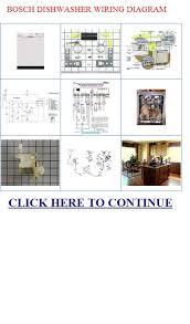 wiring diagram for bosch dishwasher u2013 the wiring diagram