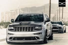 jeep grand cherokee lifted air lifted street weapon grand cherokee srt by concept one
