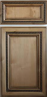 Trim For Cabinet Doors Maple Stained Flat Panel Door With Rope Trim Schmidt Custom