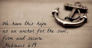 Quot Love Anchors The Soul - skegby methodist church the anchor centre we have this hope