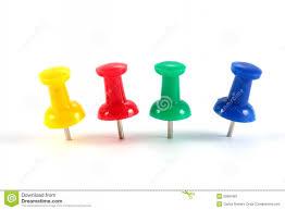 punaise de bureau ligne des punaises de couleur illustration stock image 19