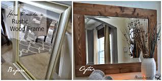 superb mirror frames diy 130 wooden mirror frames diy diy mirror