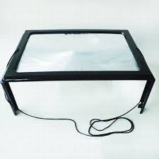 large magnifying glass with light best giant large hands free magnifying glass with light led